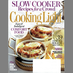 Cooking Light Magazine Features Castillo Smoked Oil