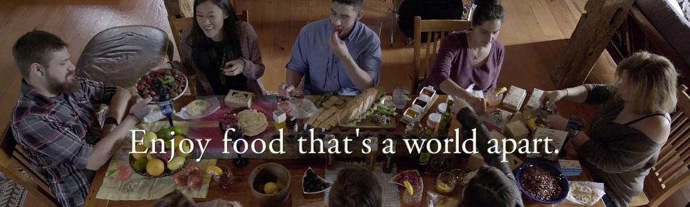 Culinary Collective: Food that's a world apart.