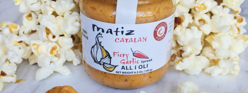 Matiz Fiery all i oli spicy aioli Spanish Catalan